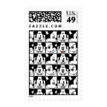 Classic Mickey Face Postage Stamps