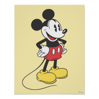 Classic Mickey | Hands on Hips Poster