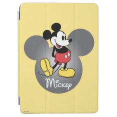 Classic Mickey | Head Icon Ipad Air Cover at Zazzle