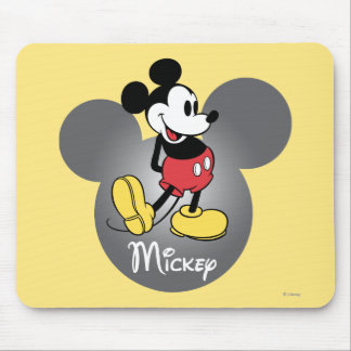 Classic Mickey | Head Icon Mouse Pad