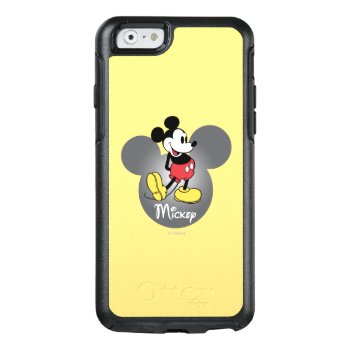 Classic Mickey   Head Icon Otterbox Iphone 6/6s Case by disney at Zazzle