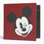 Classic Mickey | Head Tilt Wink 3 Ring Binder