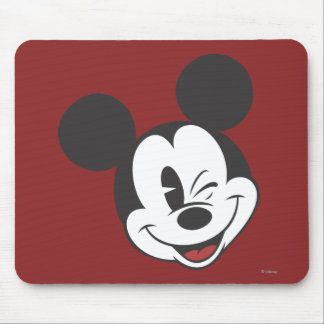 Classic Mickey | Head Tilt Wink Mouse Pad