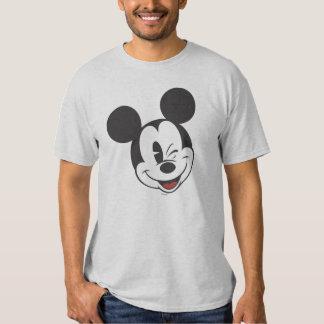 Classic Mickey | Head Tilt Wink T Shirt