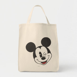 Classic Mickey   Head Tilt Wink Tote Bag