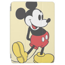 iPad Air Cover with Classic Mickey Mouse design
