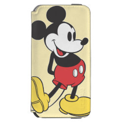Incipio Watson™ iPhone 6 Wallet Case with Classic Mickey Mouse design