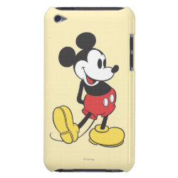 Classic Mickey Mouse Case-Mate iPod Touch Barely There Case