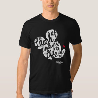 Classic Mickey   Laugh At Yourself Tee Shirt