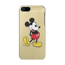 Classic Mickey Mouse Incipio Feather Shine iPhone 5/5s Case