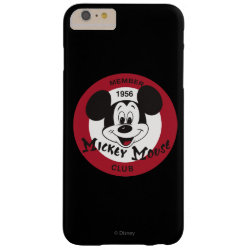 Case-Mate Barely There iPhone 6 Plus Case with Mickey Mouse Club Logo design