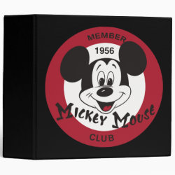 Mickey Mouse Club Logo Avery Signature 1