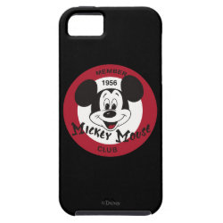 Case-Mate Vibe iPhone 5 Case with Mickey Mouse Club Logo design