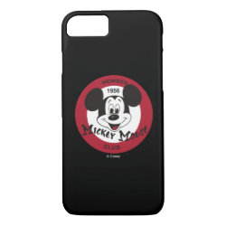 Case-Mate Barely There iPhone 7 Case with Mickey Mouse Club Logo design