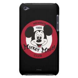 Mickey Mouse Club Logo Case-Mate iPod Touch Barely There Case