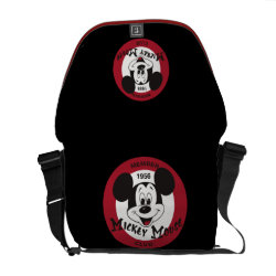 Rickshaw Medium Zero Messenger Bag with Mickey Mouse Club Logo design