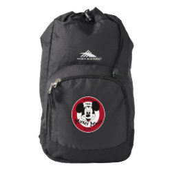 High Sierra Backpack with Mickey Mouse Club Logo design
