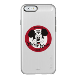 Mickey Mouse Club Logo Incipio Feather® Shine iPhone 6 Case