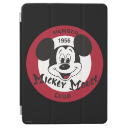 iPad Air Cover with Mickey Mouse Club Logo design