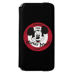 Mickey Mouse Club Logo Incipio Watson™ iPhone 6 Wallet Case