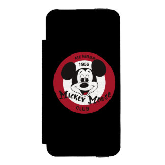Classic Mickey   Mickey Mouse Club iPhone SE/5/5s Wallet Case