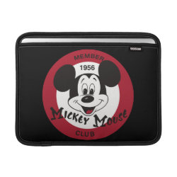 Mickey Mouse Club Logo Macbook Air Sleeve