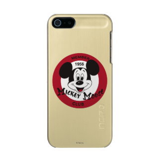 Classic Mickey   Mickey Mouse Club Metallic iPhone SE/5/5s Case