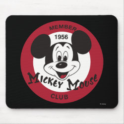 Mickey Mouse Club Logo Mousepad