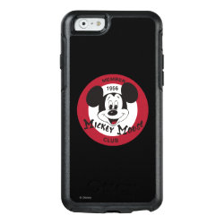 OtterBox Symmetry iPhone 6/6s Case with Mickey Mouse Club Logo design
