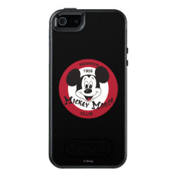 OtterBox Symmetry iPhone SE/5/5s Case with Mickey Mouse Club Logo design