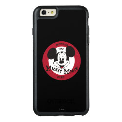 OtterBox Symmetry iPhone 6/6s Plus Case with Mickey Mouse Club Logo design
