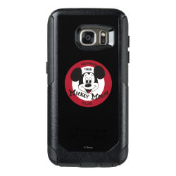OtterBox Commuter Samsung Galaxy S7 Case with Mickey Mouse Club Logo design