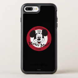 OtterBox Apple iPhone 7 Plus Symmetry Case with Mickey Mouse Club Logo design
