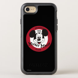 OtterBox Apple iPhone 7 Symmetry Case with Mickey Mouse Club Logo design