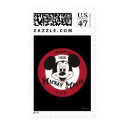 Medium Stamp 2.1' x 1.3' with Mickey Mouse Club Logo design