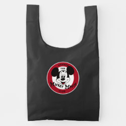 Mickey Mouse Club Logo BAGGU Reusable Bag