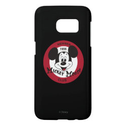 Mickey Mouse Club Logo Case-Mate Barely There Samsung Galaxy S7 Case