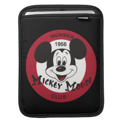 iPad Sleeve with Mickey Mouse Club Logo design