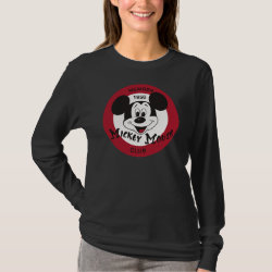 Mickey Mouse Club Logo Women's Basic Long Sleeve T-Shirt