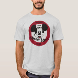 Mickey Mouse Club Logo Men's Basic T-Shirt
