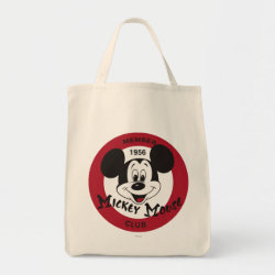 Mickey Mouse Club Logo Grocery Tote