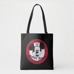All-Over-Print Tote Bag, Medium with Mickey Mouse Club Logo design