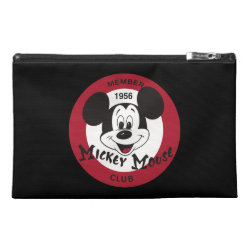 Travel Accessory Bag with Mickey Mouse Club Logo design
