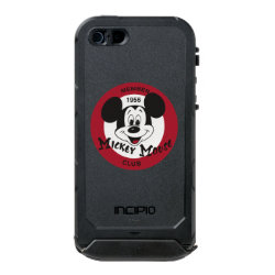 Mickey Mouse Club Logo Incipio Feather Shine iPhone 5/5s Case