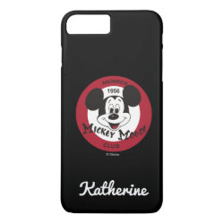Case-Mate Tough iPhone 7 Plus Case with Mickey Mouse Club Logo design