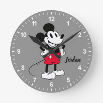 Classic Mickey Mouse | A True Original Round Clock