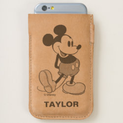 iPhone 7 and iPhone 6/6s Case with Classic Mickey Mouse design