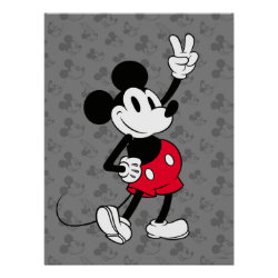 Classic Mickey Mouse | Cool Beyond Years Poster
