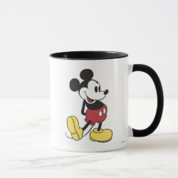Combo Mug with Classic Mickey Mouse design