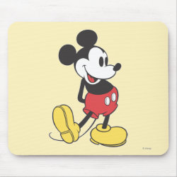 Mousepad with Classic Mickey Mouse design